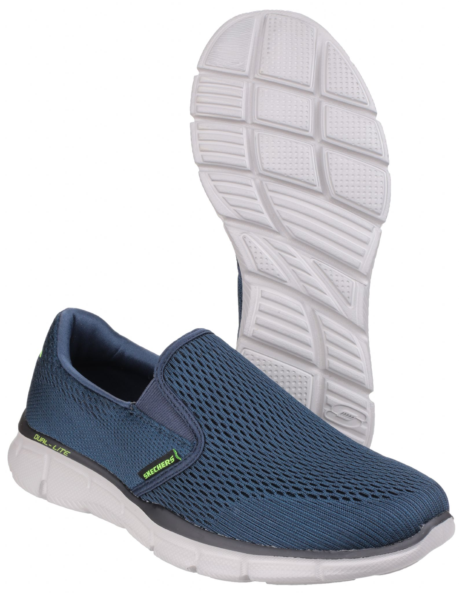 Mens Skechers 51509 NVY Navy Equalizer Slip On Trainers
